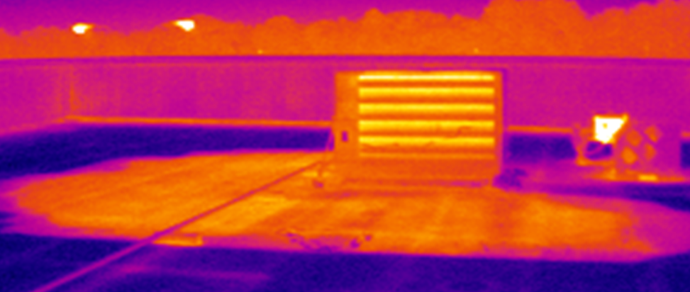 On Roof - Infrared
