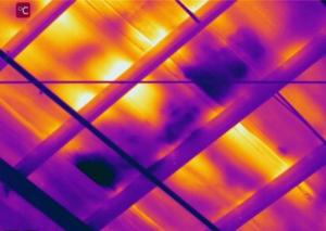 Wet Spots - Infrared